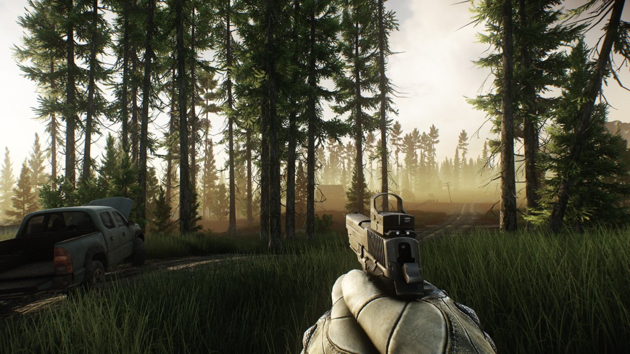 Escape from Tarkov Woods Extracts