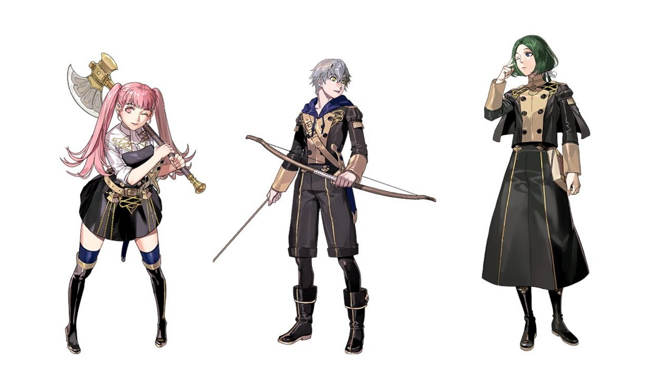 Fire Emblem Three Houses Cindered Shadows returning characters