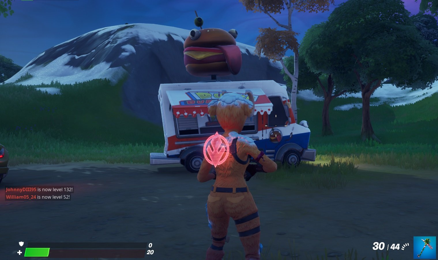 Durr Burger Food Truck location in Fortnite Chapter 2 Season 1