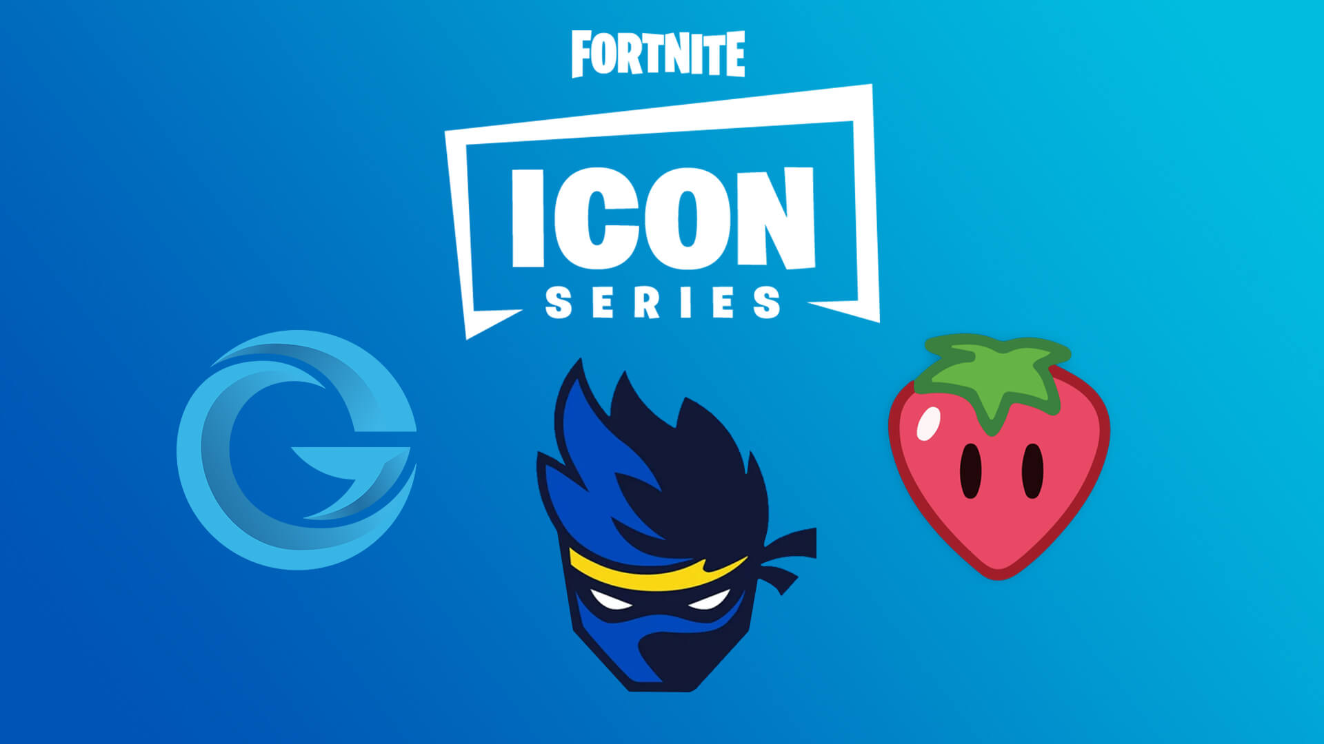 The three starter Icons in Fortnite's celeb cosmetics series. © Epic Games
