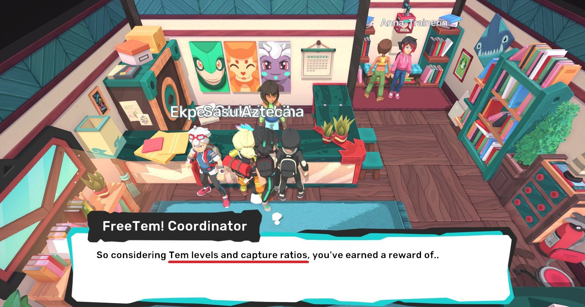 You will get more Pacsuns based on the level and capture ratio of the Temtem you release.
