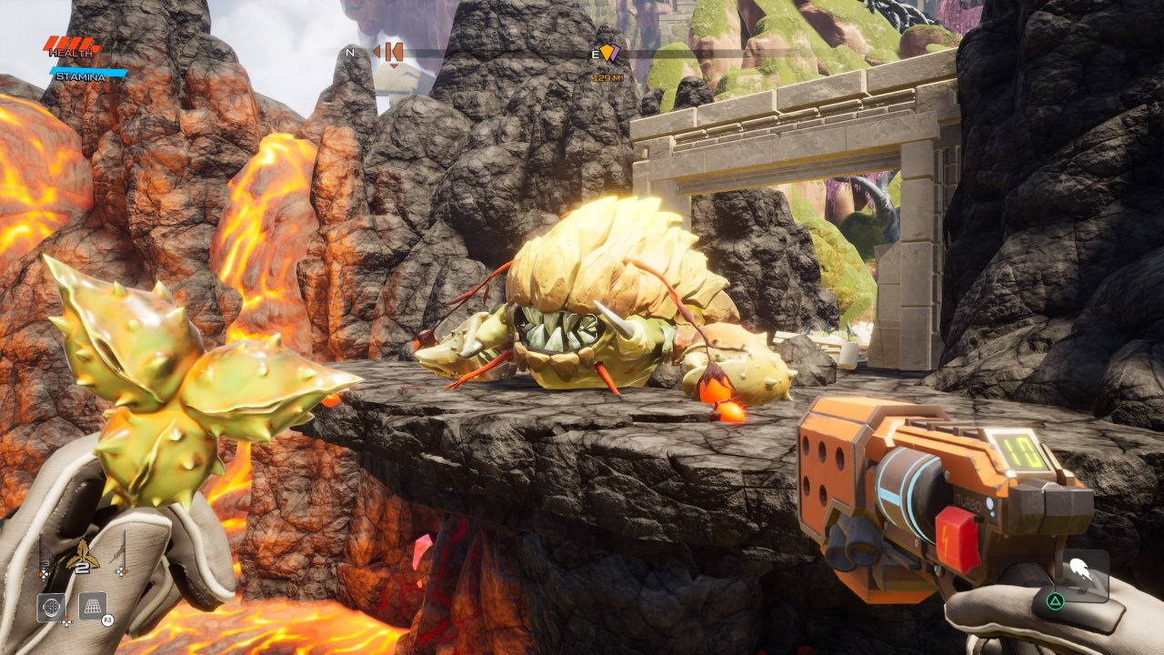 How to use Grapple Seeds in Journey to the Savage Planet