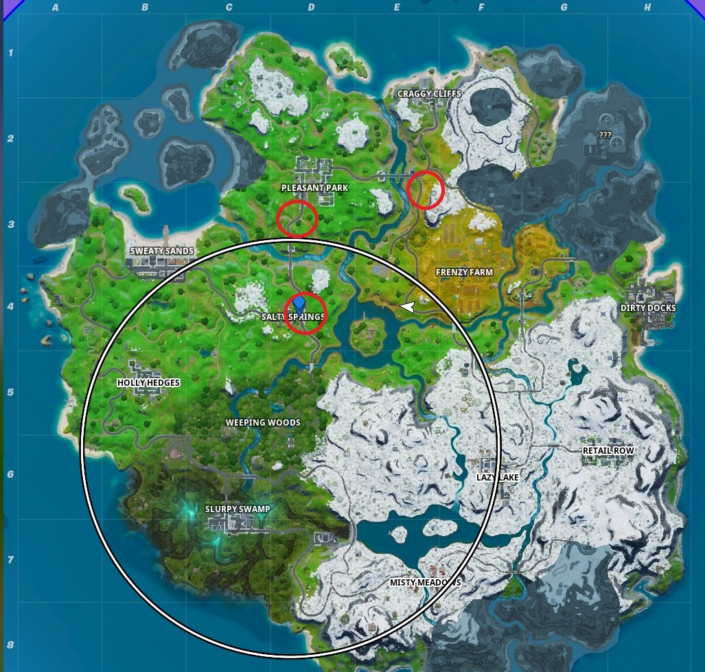How to visit all three Bus Stops in Fortnite Chapter 2 Season 1