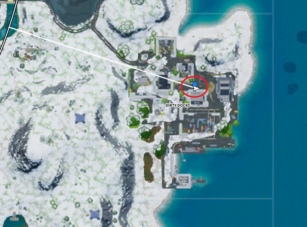 How to visit Mr. Polar's Artisanal Ice in Fortnite