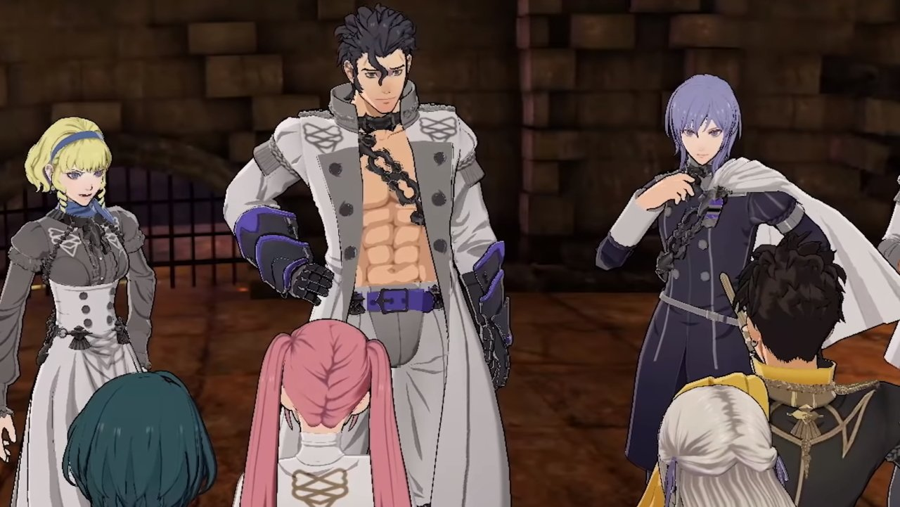 New characters in Cindered Shadows Fire Emblem Three Houses Ashen Wolves dlc