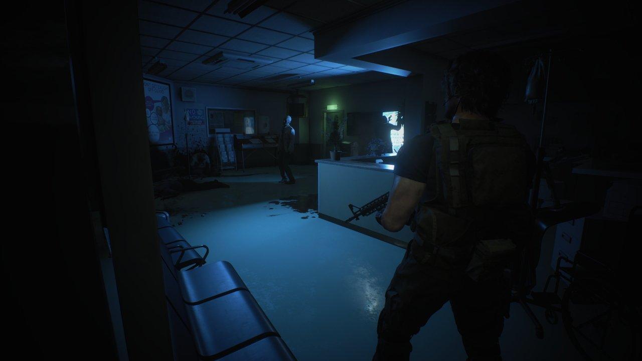Resident Evil 3 Nemesis Trailer hospital