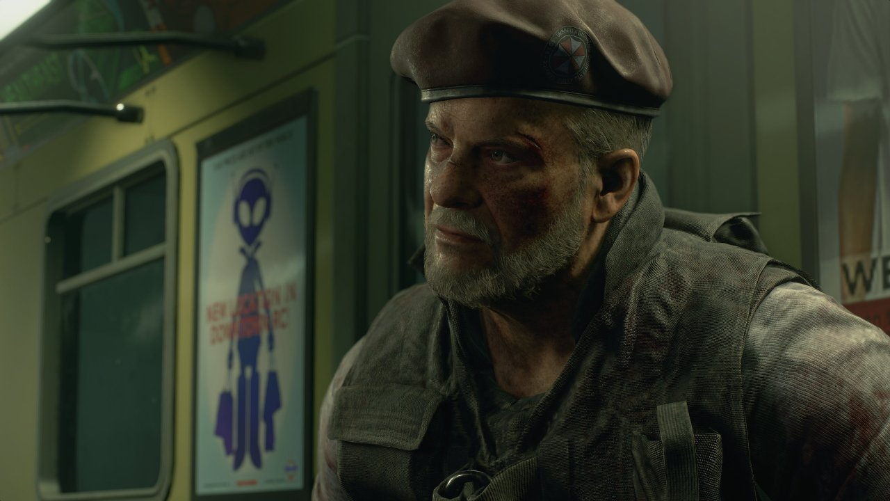 Resident Evil 3 Nemesis Trailer Mikhail Viktor