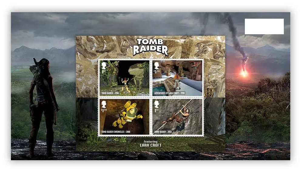 Royal Mail video game stamps 1