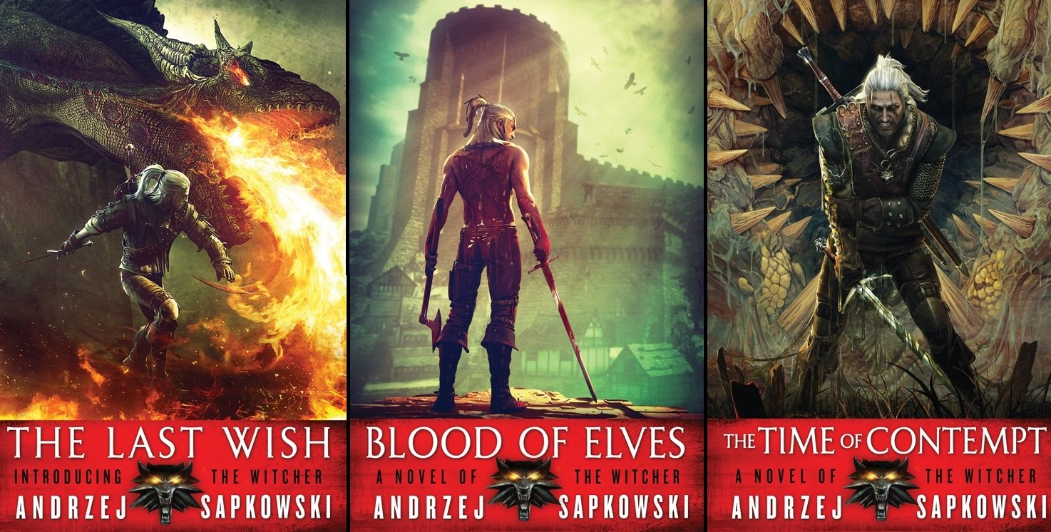 The Witcher books land on New York Times Best Sellers list