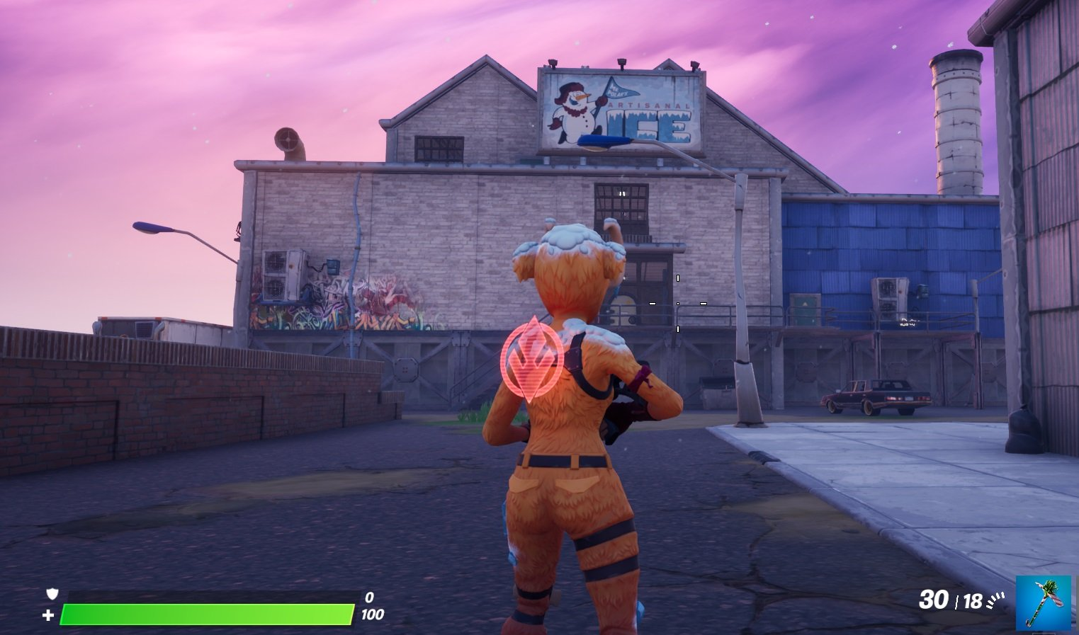 Where to find Mr. Polar's Artisanal Ice building in Fortnite