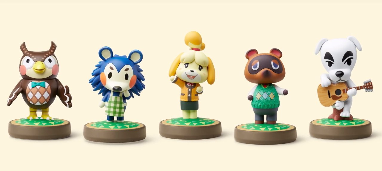 Animal crossing New Horizons supported Amiibo figures