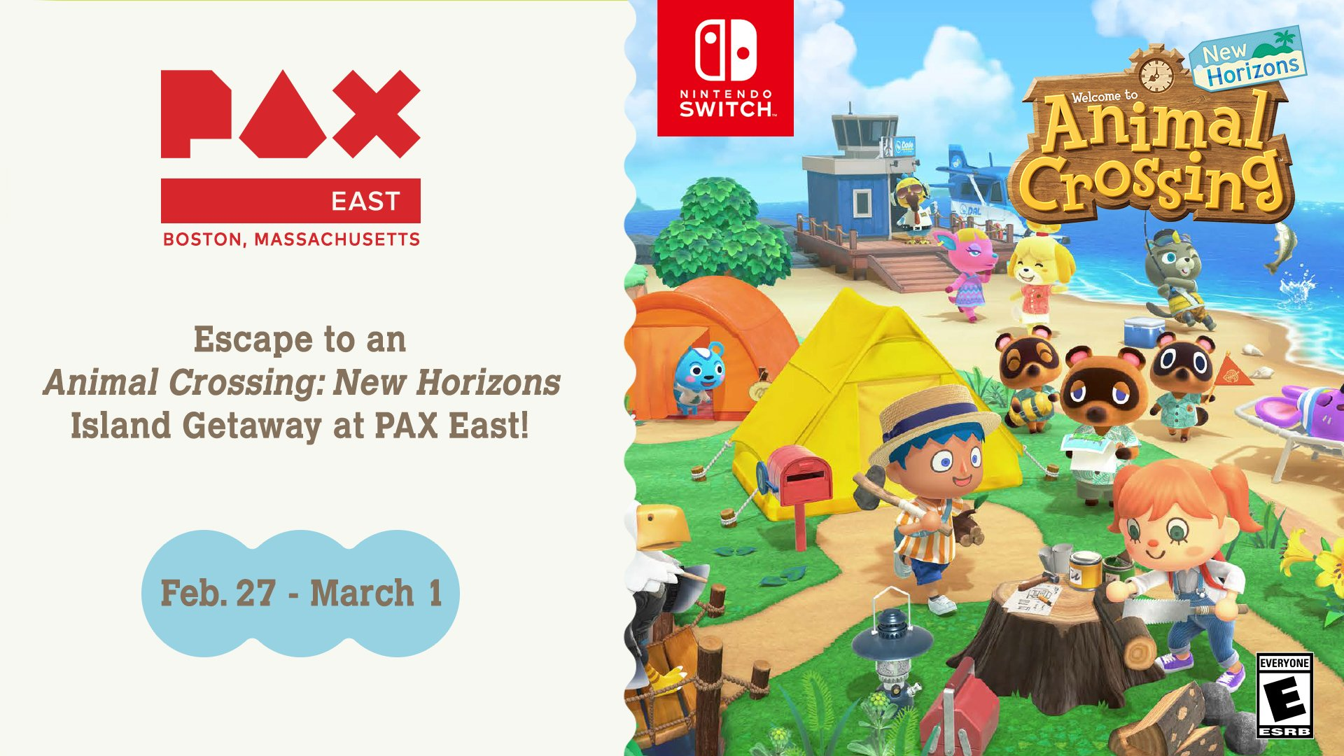 Nintendo confirms Animal Crossing booth at PAX East