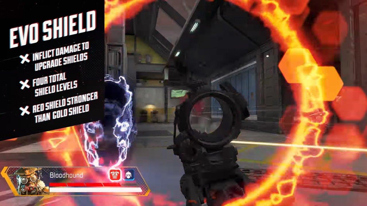 Red Shield health Apex Legends Evo Shield