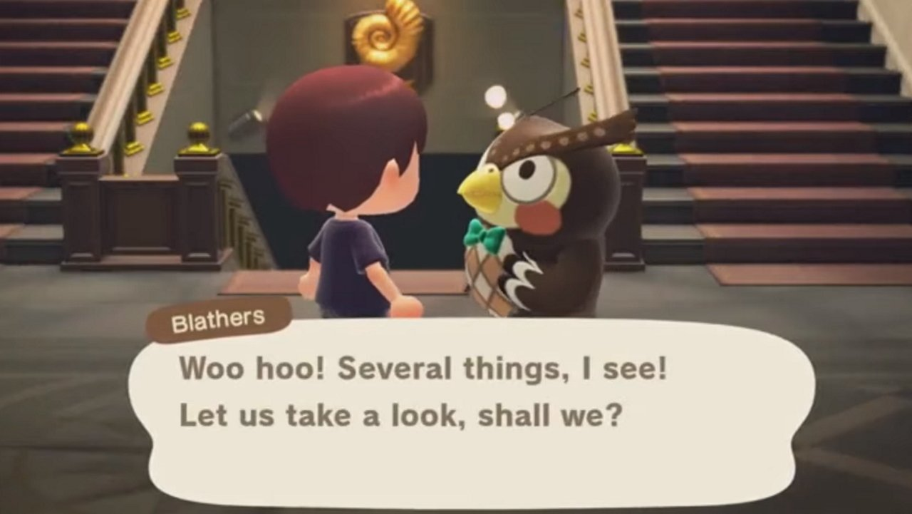 Blathers Animal Crossing New Horizons
