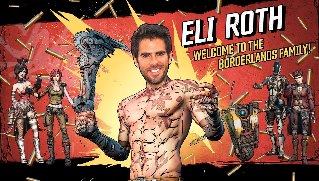 Borderlands Movie directed by eli roth