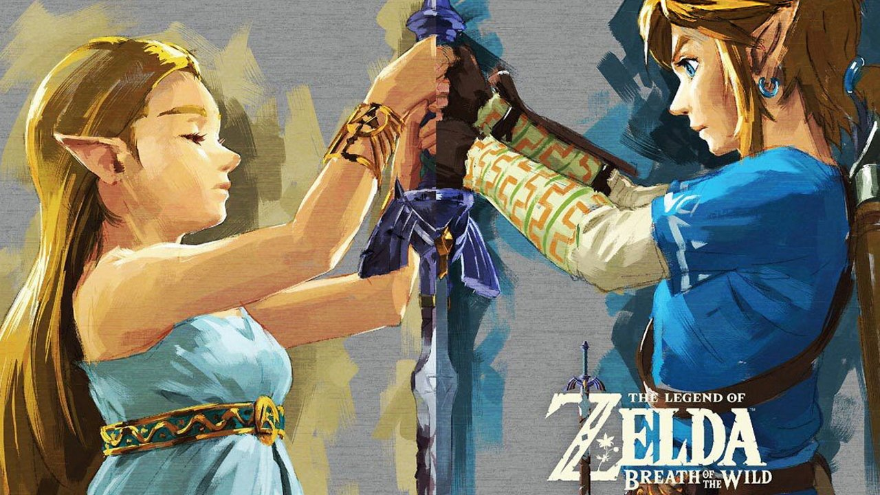 Gaming couples Valentines day challenge Breath of the wild
