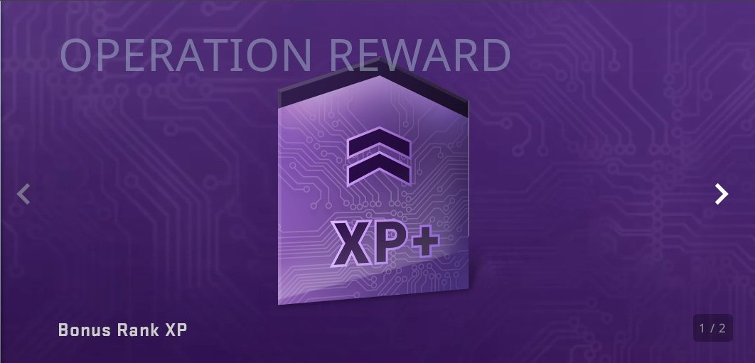 Bonus XP serves little purpose beyond pushing you towards the year's Service Medal a little faster.