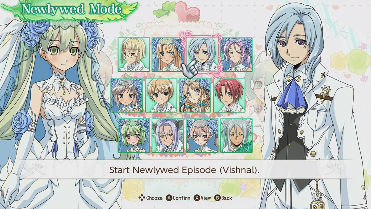 Female Romance options in Rune Factory 4