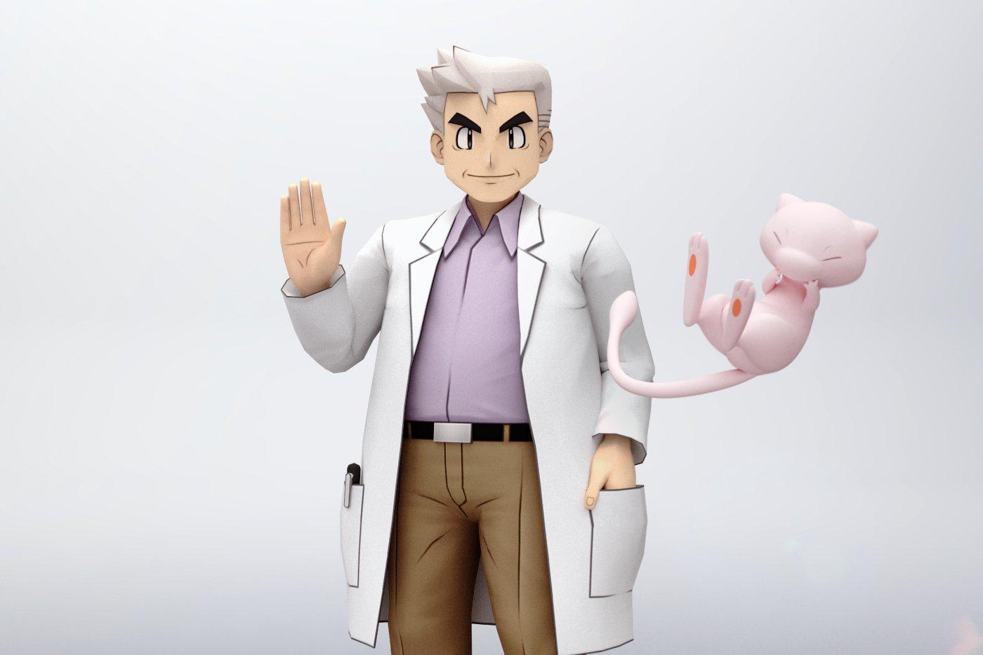 How to get Professor Oak in Pokemon Masters