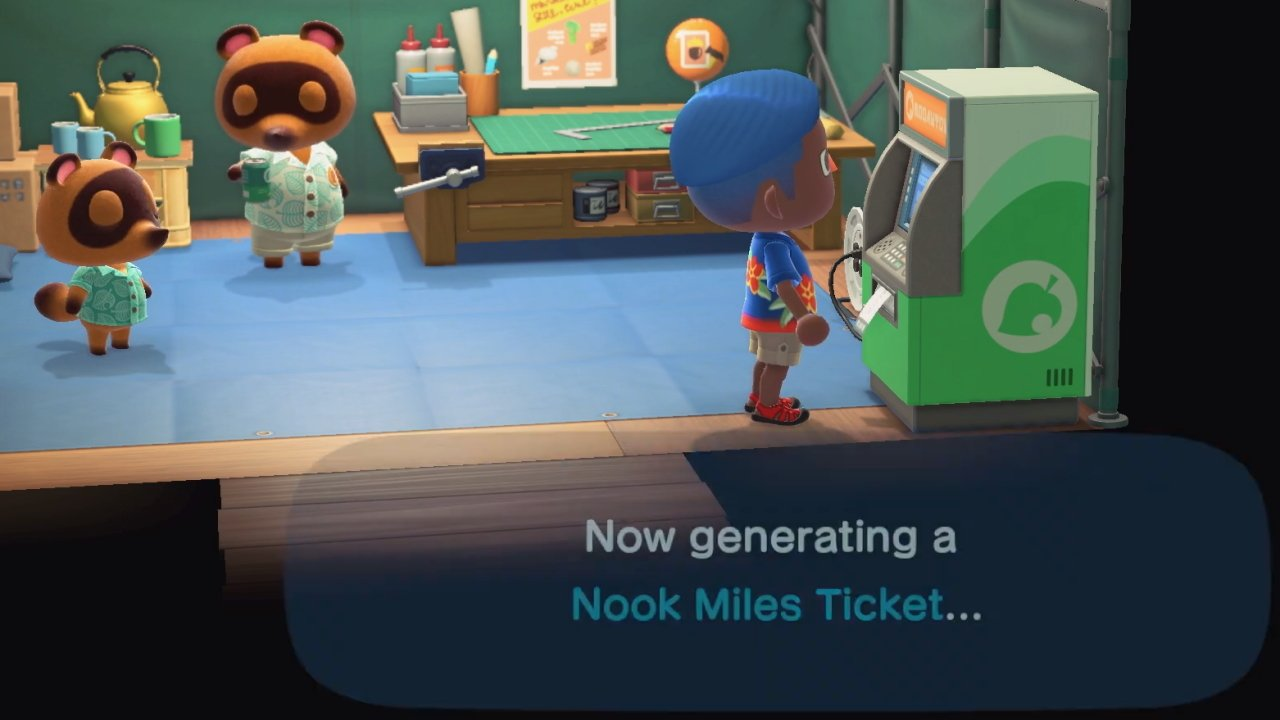 How to get Nook Miles Tickets in Animal Crossing: New Horizons