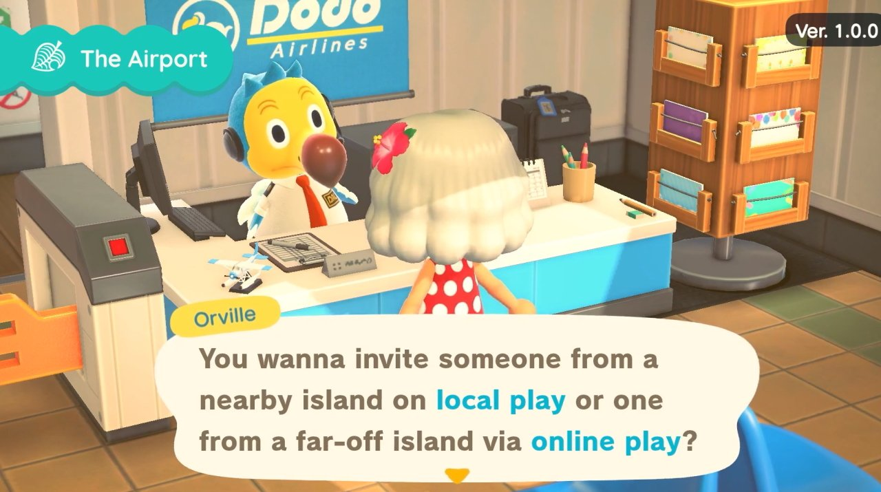 How to invite friends in animal crossing new Horizons