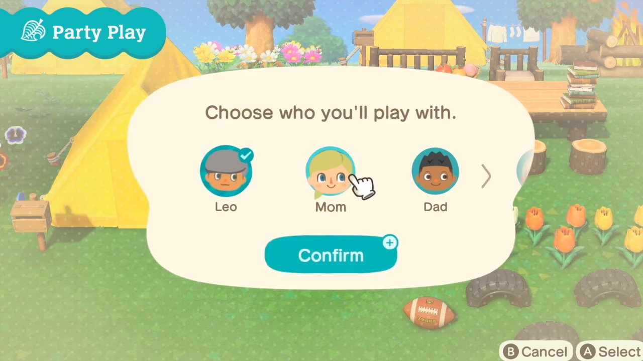 how to play coop in Animal Crossing new Horizons