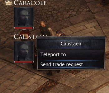 Wolcen How to trade items with players