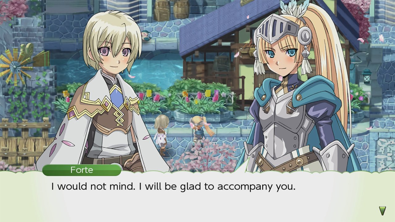 Male romance options in Rune Factory 4