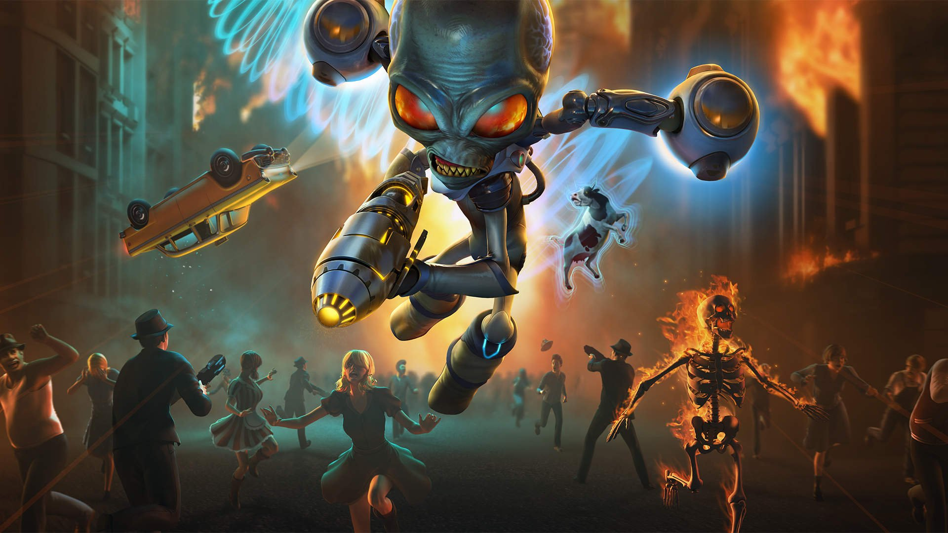 THQ Nordic is bringing several cool games to PAX East 2020, including the Destroy All Humans remake.
