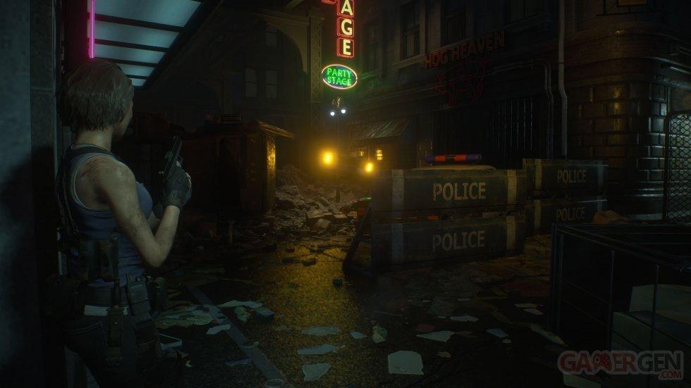 Resident Evil 3 leak screenshots raccoon city jill