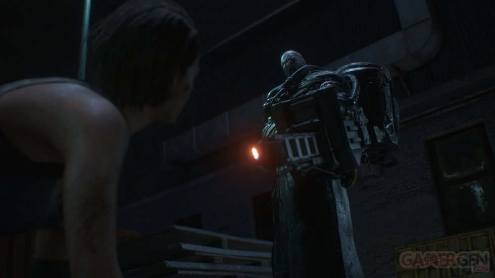 leaked resident evil 3 screenshot nemesis