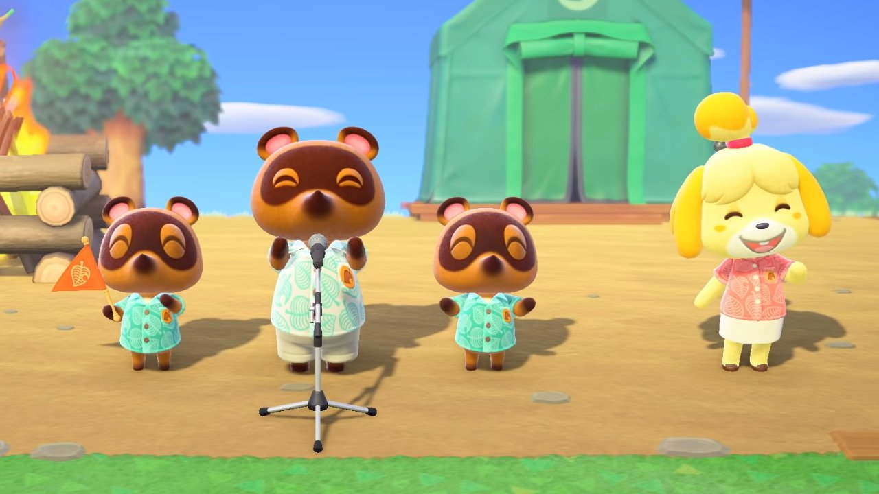 Tom Nook Isabelle Timmy Tommy New Horizons Animal Crossing