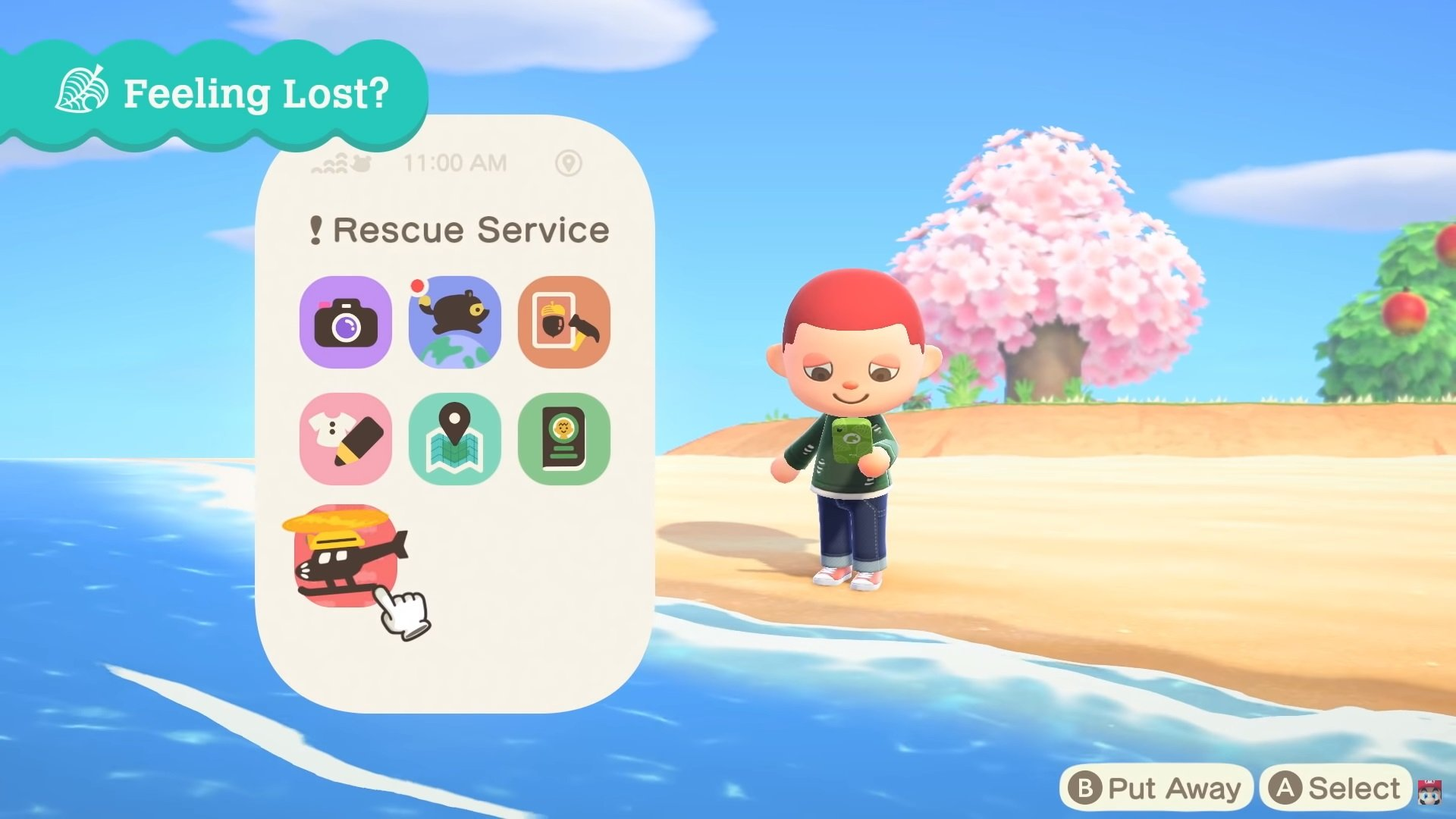 How to fast travel using Rescue Services in Animal Crossing: New Horizons