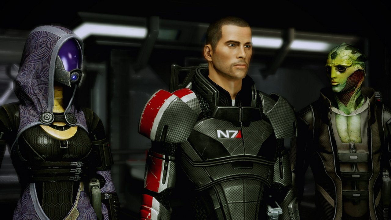 Video game valentines day romances - mass effect