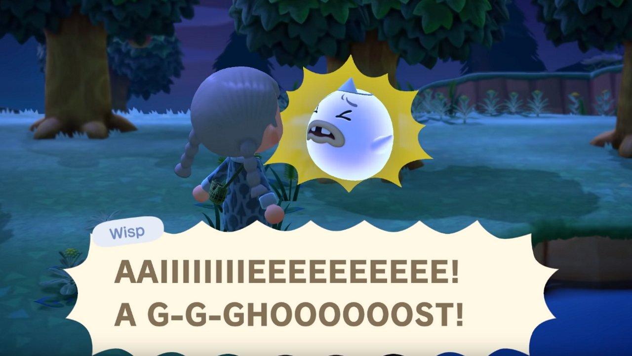 Wisp Animal Crossing New Horizons