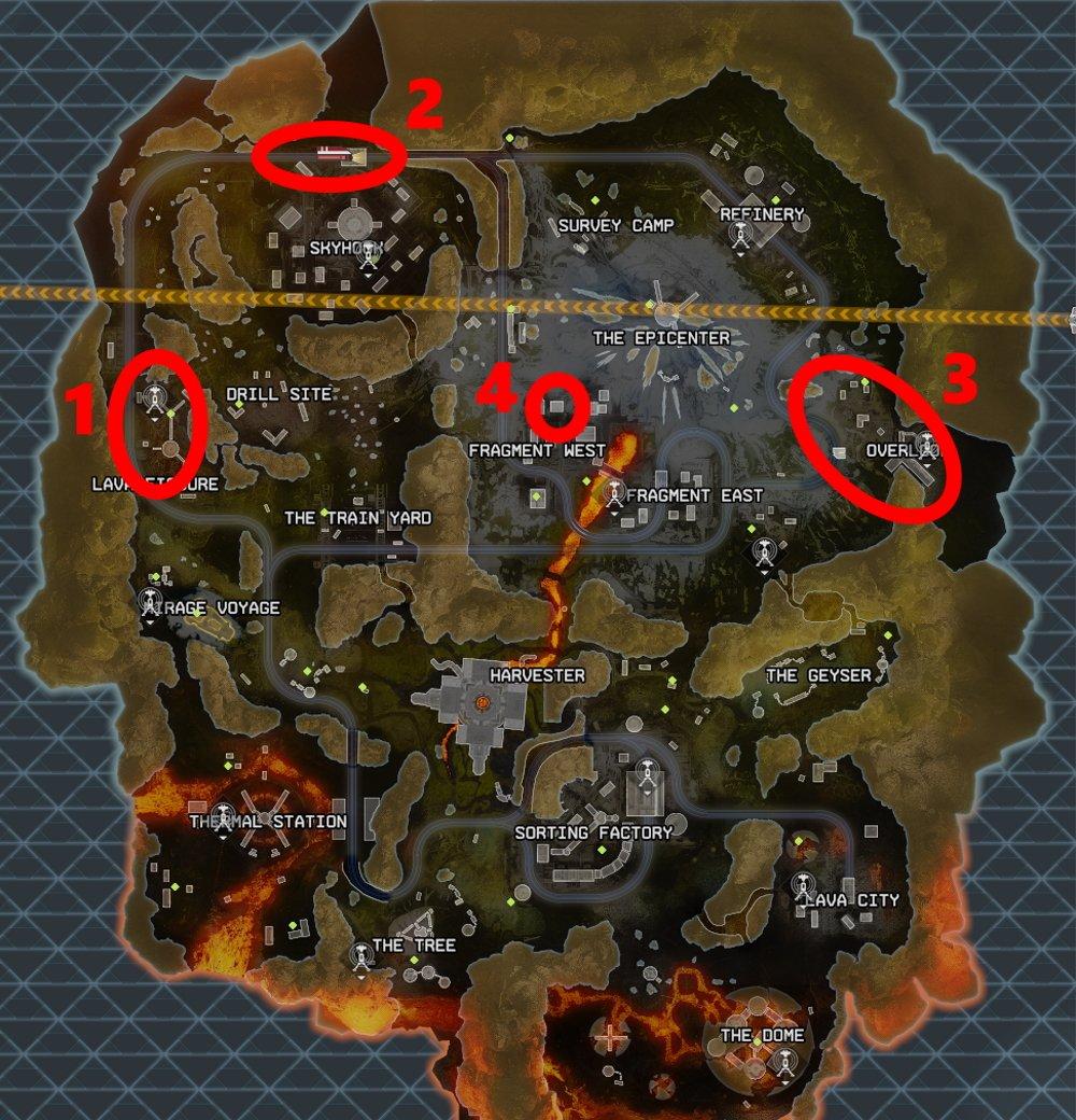 The best loot spots for Apex Legends Deja Loot mode