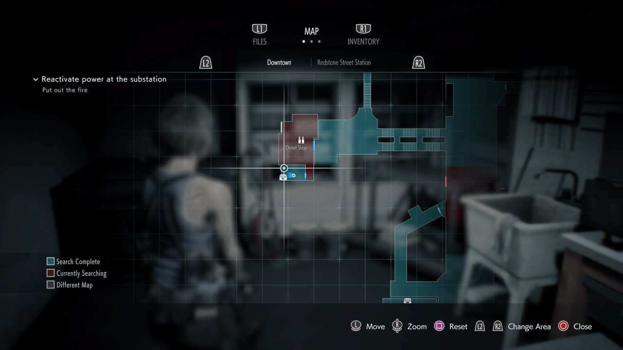 Bolt cutters location resident evil 3 demo