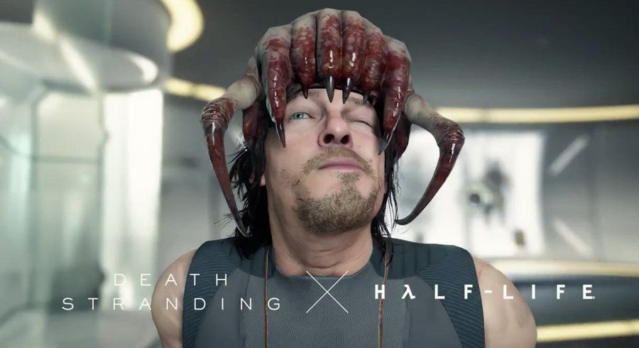 Death Stranding headcrab cap for PC Steam release © Valve