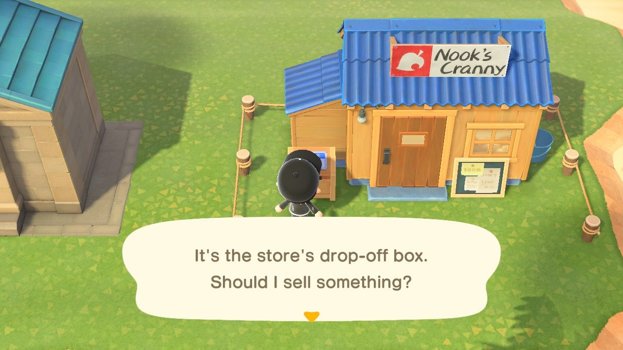 What is the Drop-Off Box for in Animal Crossing: New Horizons?