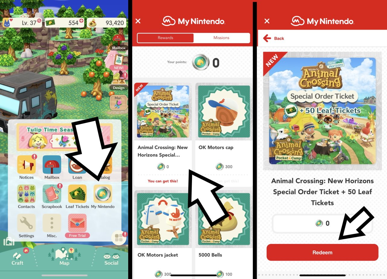 How to get Pocket Camp rewards in Animal Crossing: new horizons