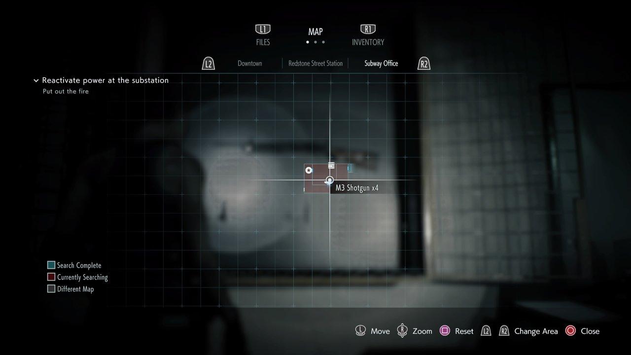 Get the shotgun Resident Evil 3 demo
