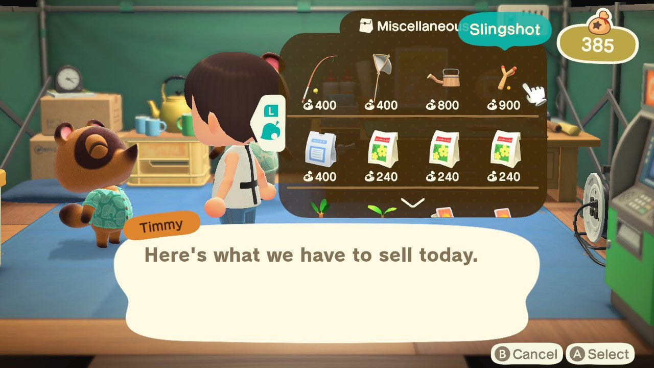 How to get a Slingshot in Animal Crossing: New Horizons