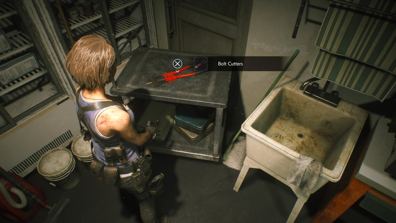 How to get bolt cutters in the Resident Evil 3 demo