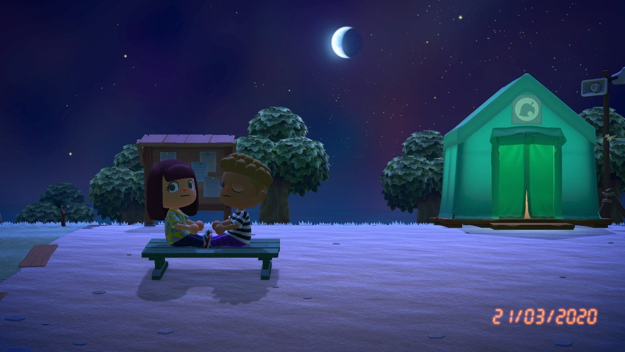 how to sleep in animal crossing new horizons