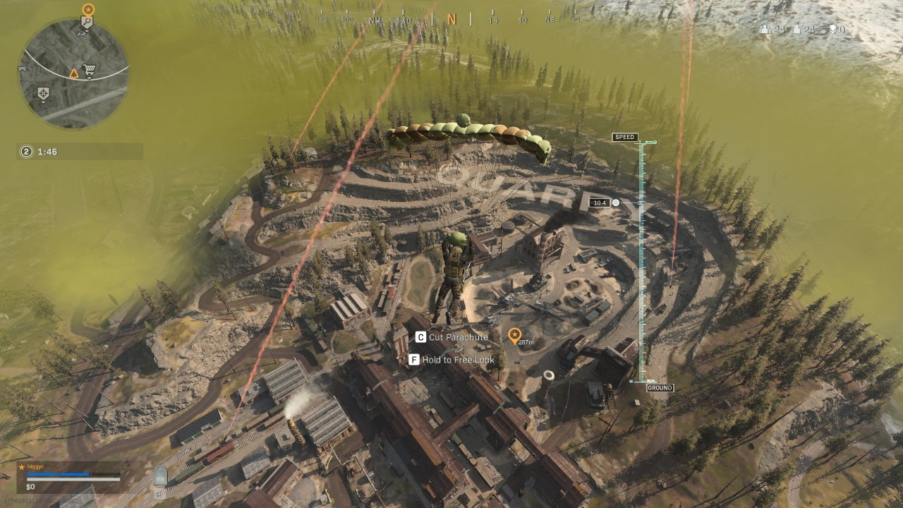 How to swap to third-person camera in Call of Duty: Warzone
