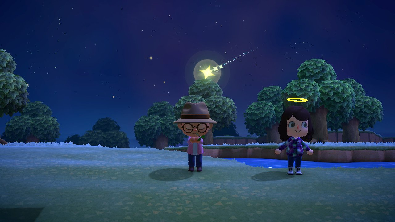 How to wish on shooting stars in Animal Crossing: New Horizons