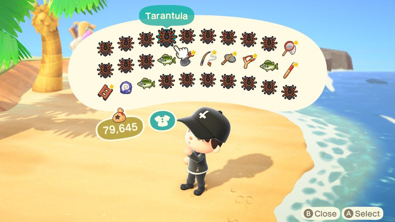 How to increase inventory space Animal Crossing: New Horizons