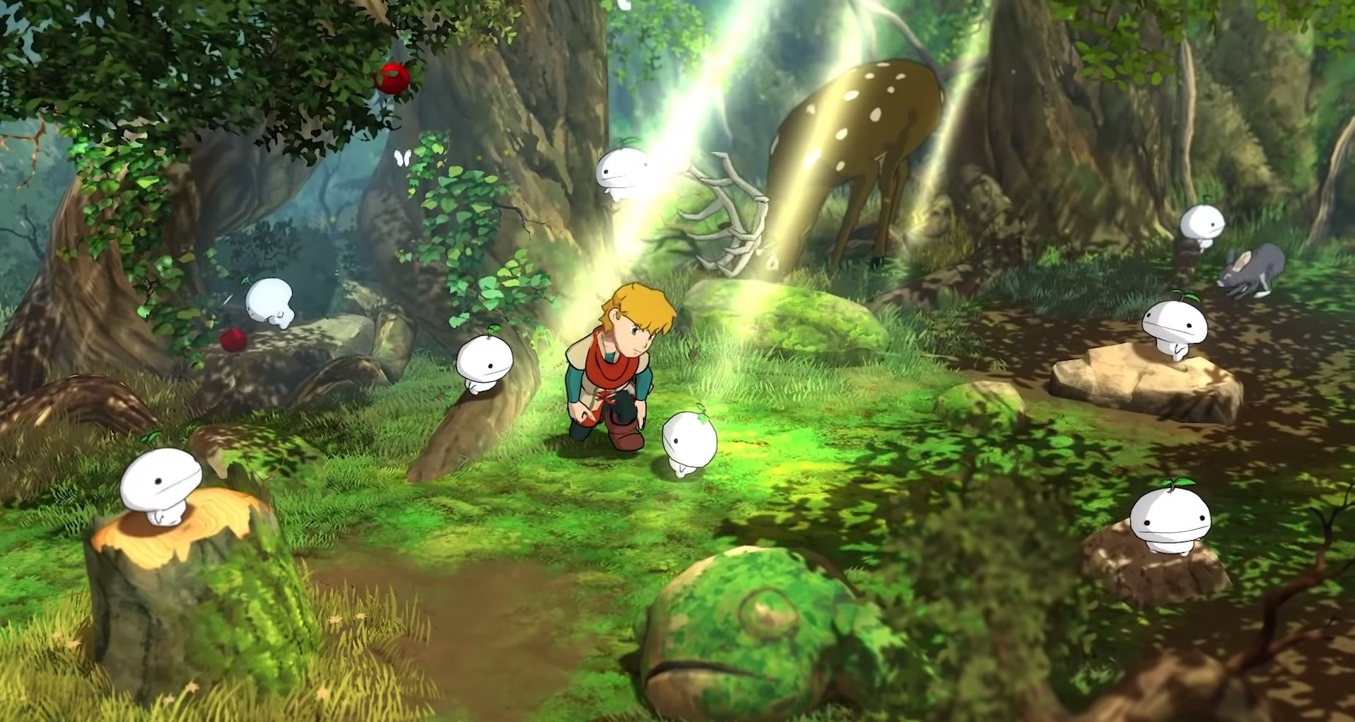 Baldo has a Studio Ghibli vibe mixed with a bit of Legend of Zelda style gameplay.