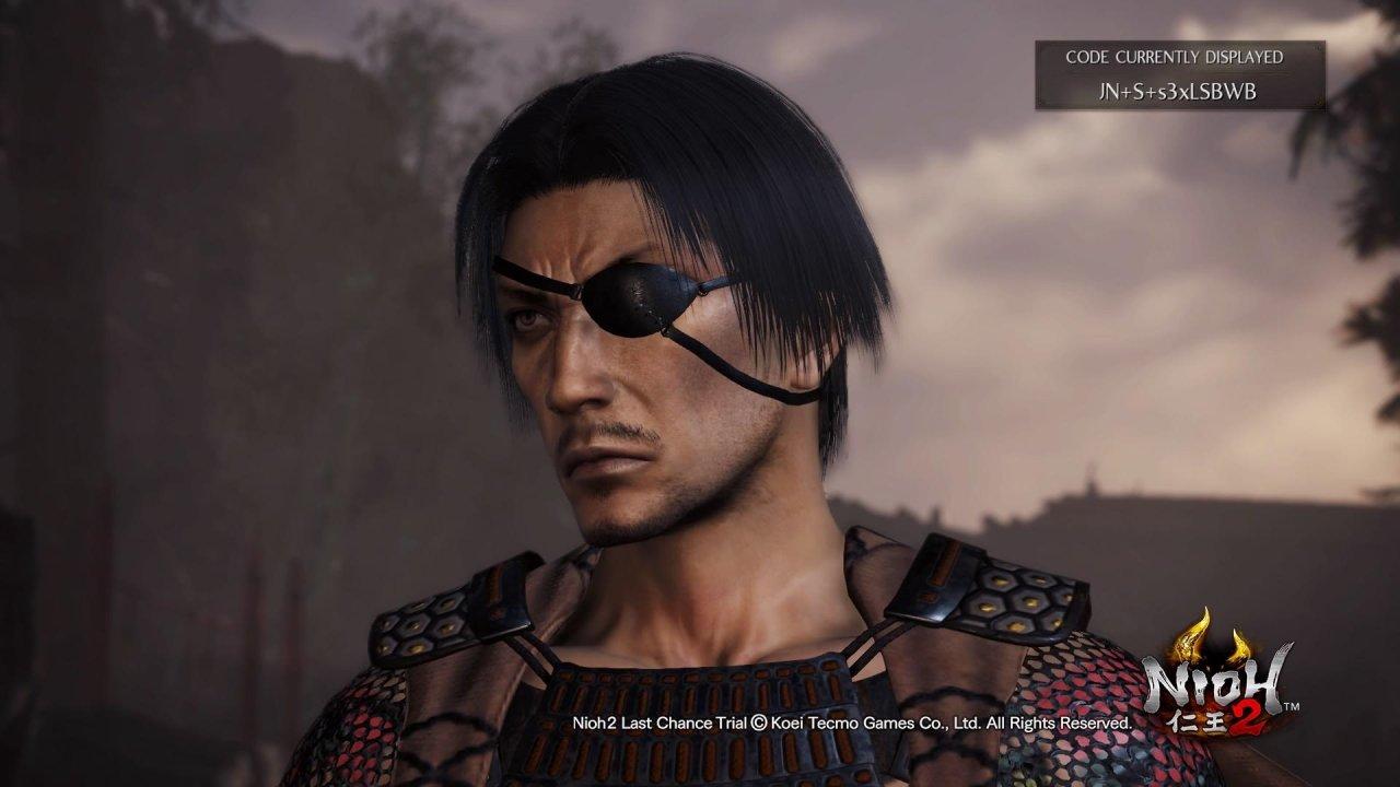 Nioh 2 character codes Goro Majima yakuza