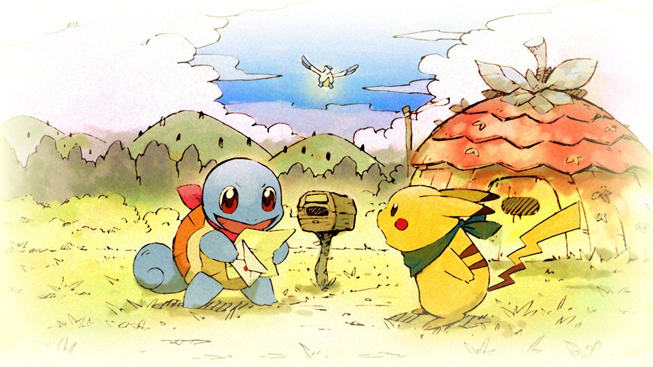 All Starters and Starter Moves in Pokemon Mystery Dungeon: Rescue Team DX